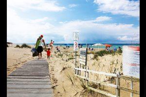 ingresso spiaggia libera